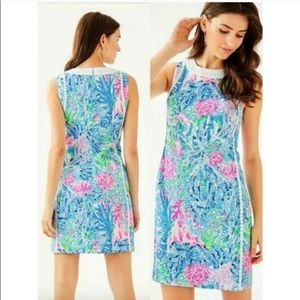 Lilly Pulitzer Mila Stretch Shift Dress Multi Sink